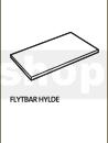 Flytbar hylde - Senator model 1-3