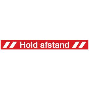 """""""HOLD AFSTAND"""" FOLIE, T/GULV"""