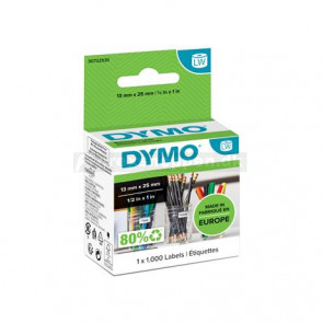 Dymo etiket 25x13mm papir - 11353