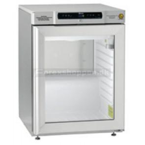 KAMPAGNEMODEL GRAM Biocompact medicinkøleskab 125L glasdør og 3 trådhylder