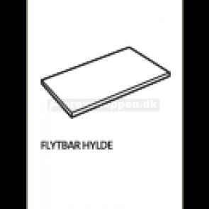 Flytbar hylde - Senator model 4