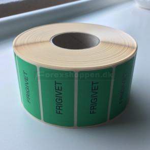 """Frigivet""-etiket"