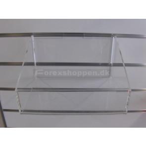 Akrylkurv til panelvæg