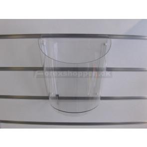 Stor akryldumper til panelvæg