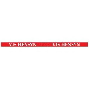 """""""VIS HENSYN"""" diskretionsfolie"""