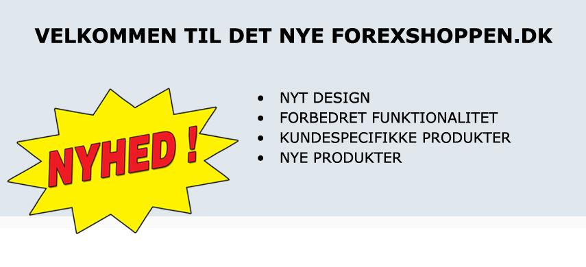 Velkommen til nye Forexshoppen.dk