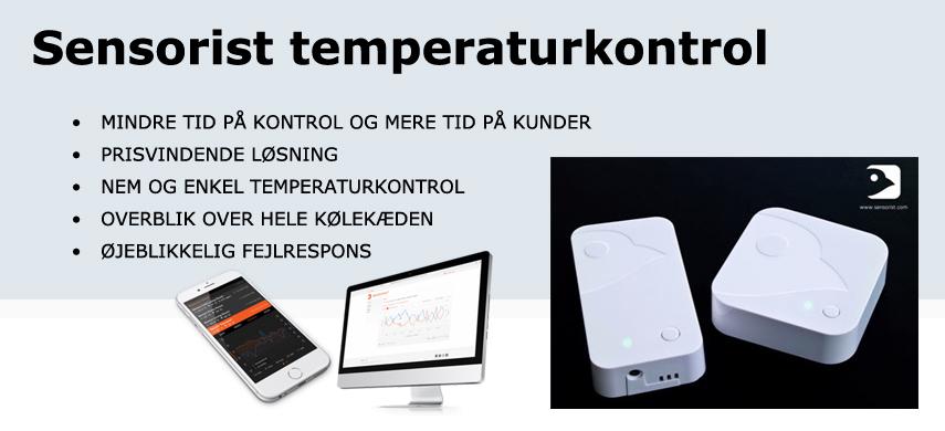 Sensorist temperaturkontrol